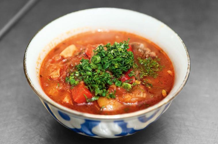 Lagman - supă din bucătăria uzbecă